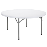 70152 Stół cateringowy składany (fi 152 cm)