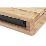 Zestaw cateringowy drewniany WOODY STRONG 220x50 cm