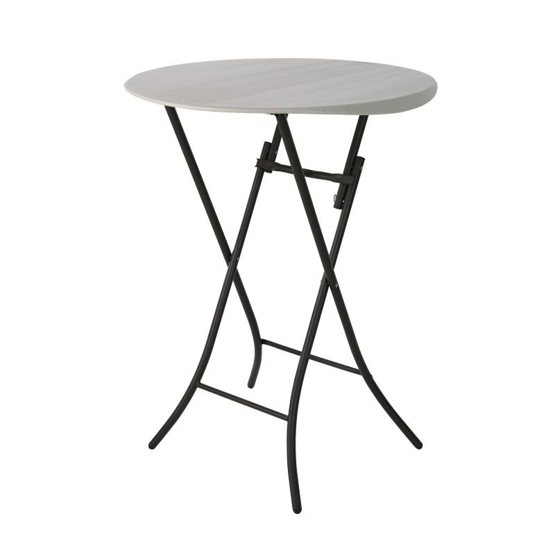 80362 Stół cateringowy koktajlowy (fi84/110cm)